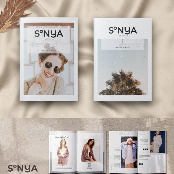 Creative and InDesign Catalog Templates from GraphicRiver