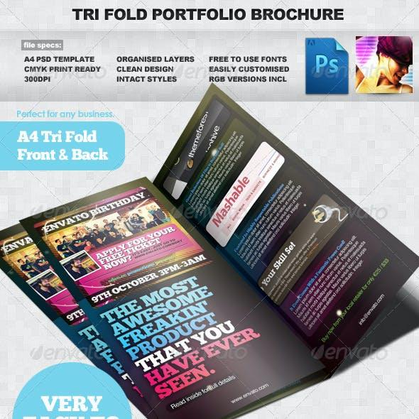 a4 brochure template psd graphics designs templates