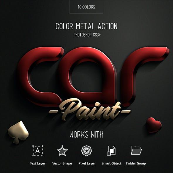 Car Paint - Photoshop Action