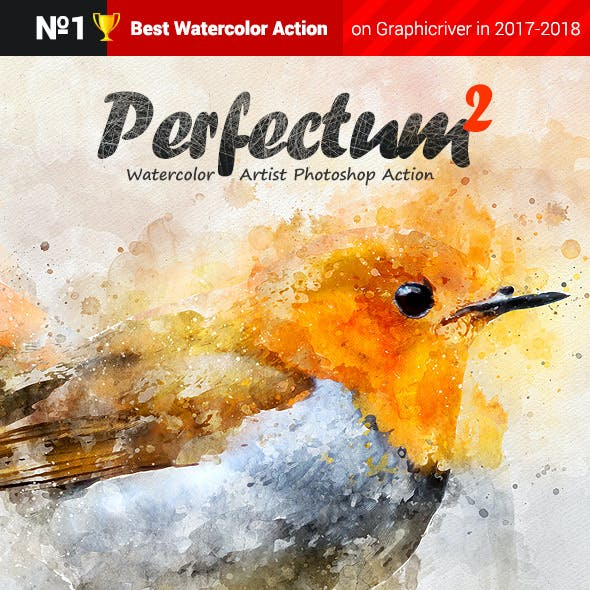Watercolor - Perfectum 2 - Photoshop Action by profactions