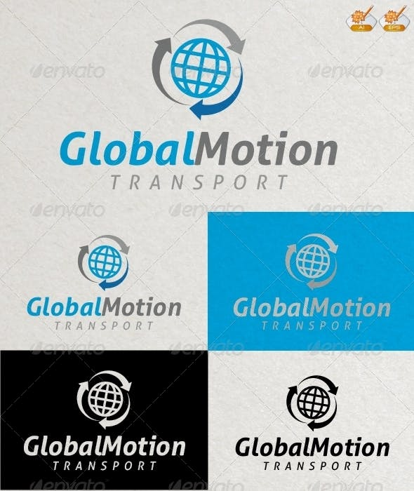 Global Motion Logo Template By Graphicdiesel Graphicriver