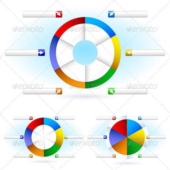 Pie Chart Graphics Designs Templates From Graphicriver
