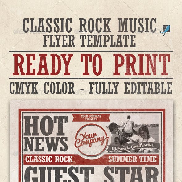 rock concert flyer templates from graphicriver page 38