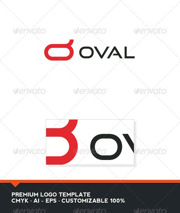 oval symbol and letter o logo template by domibit graphicriver
