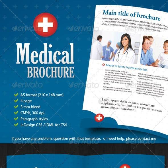 medical brochure graphics designs templates from graphicriver