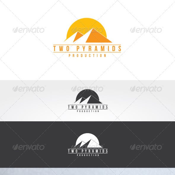 Yellow Building Logos From Graphicriver