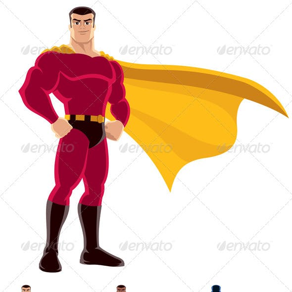 superheroes powerpoint graphics designs templates