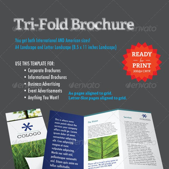 tri fold brochure indesign template by creativebooth graphicriver