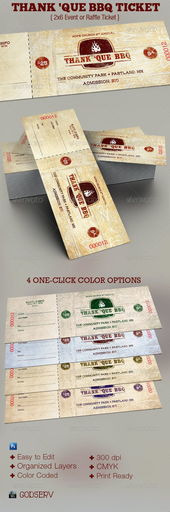 western bbq charity ticket template miscellaneous print templates