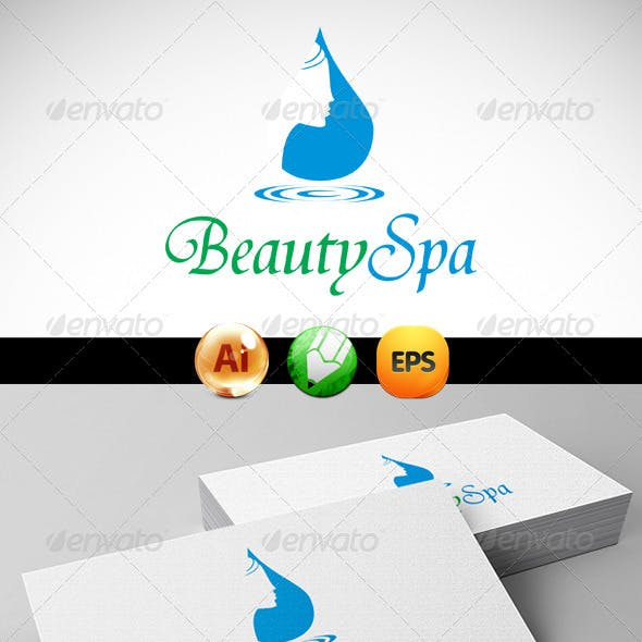 Corel Draw X4 Clear All Beauty Spa Logo Templates