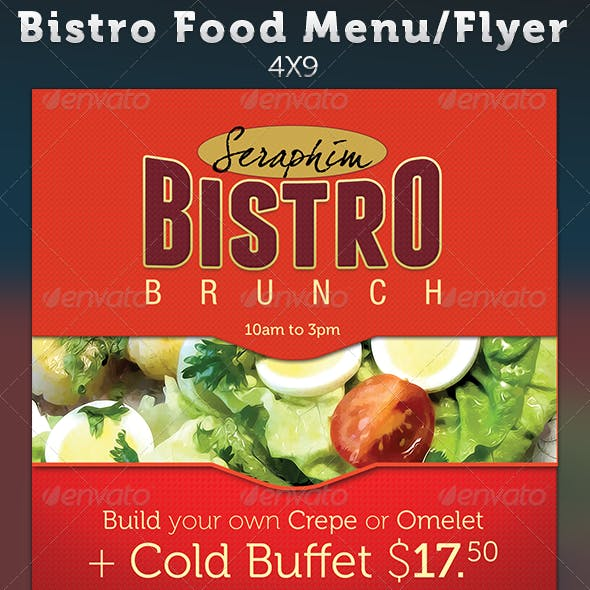 menu flyer template graphics designs templates