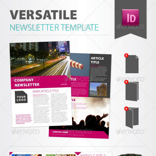 modern newsletter templates from graphicriver