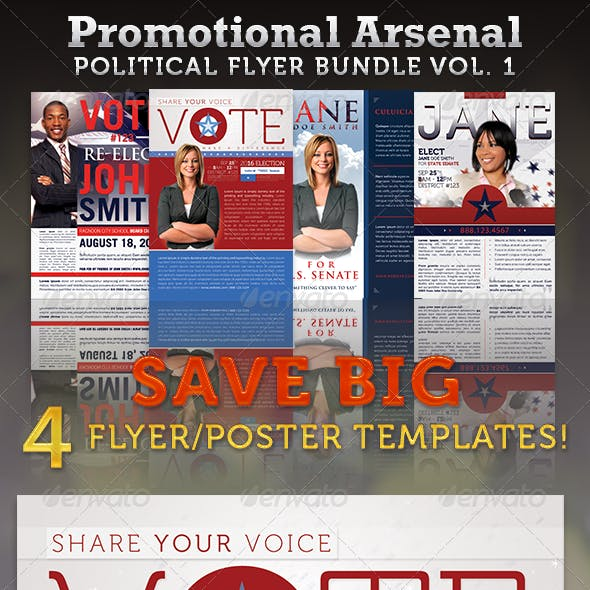 election poster template graphics designs templates