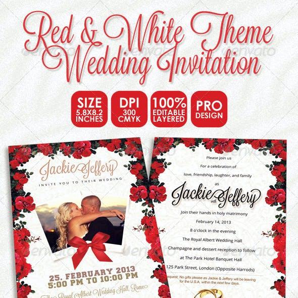 Theme Red Card Designs Invite Templates From GraphicRiver