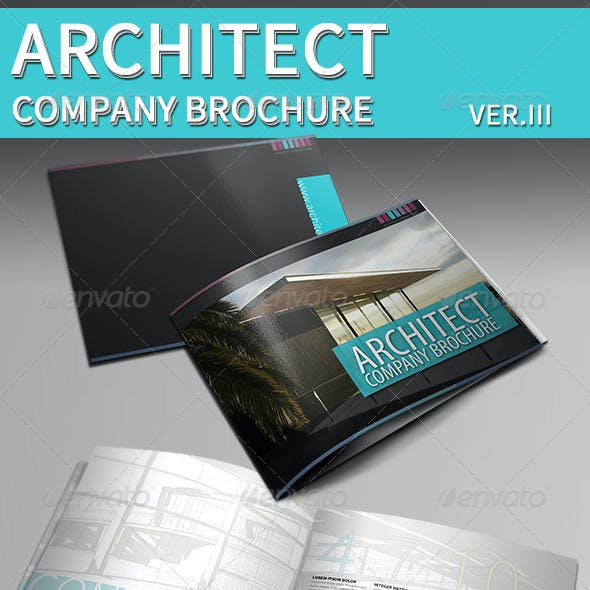 Architecture Brochure Template | Indesign Brochure Template Graphics Designs Templates