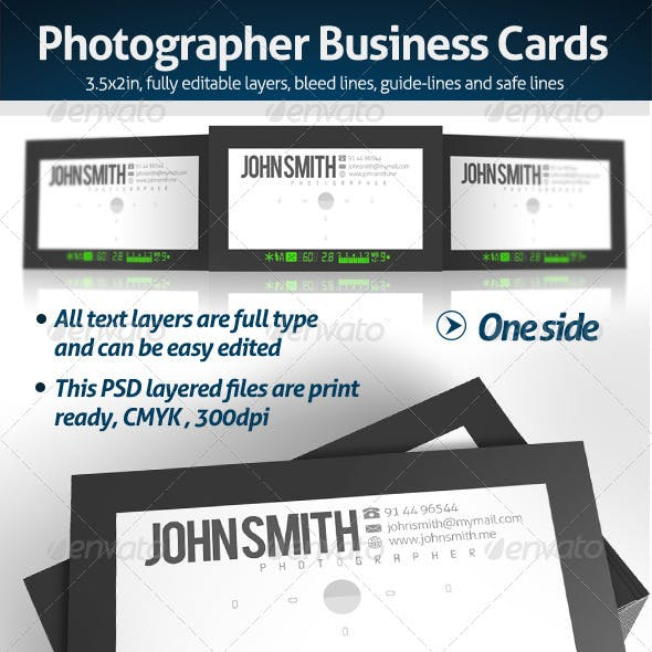 Industry specific business card templates from graphicriver page 36 viewfinder business card colourmoves