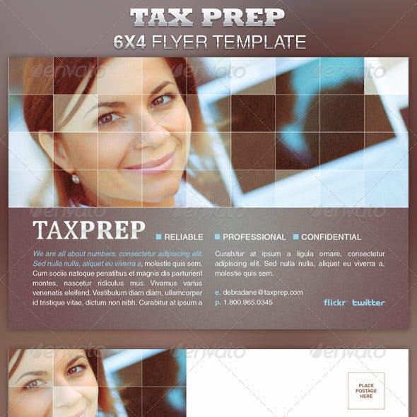 Tax Prep Flyer Template