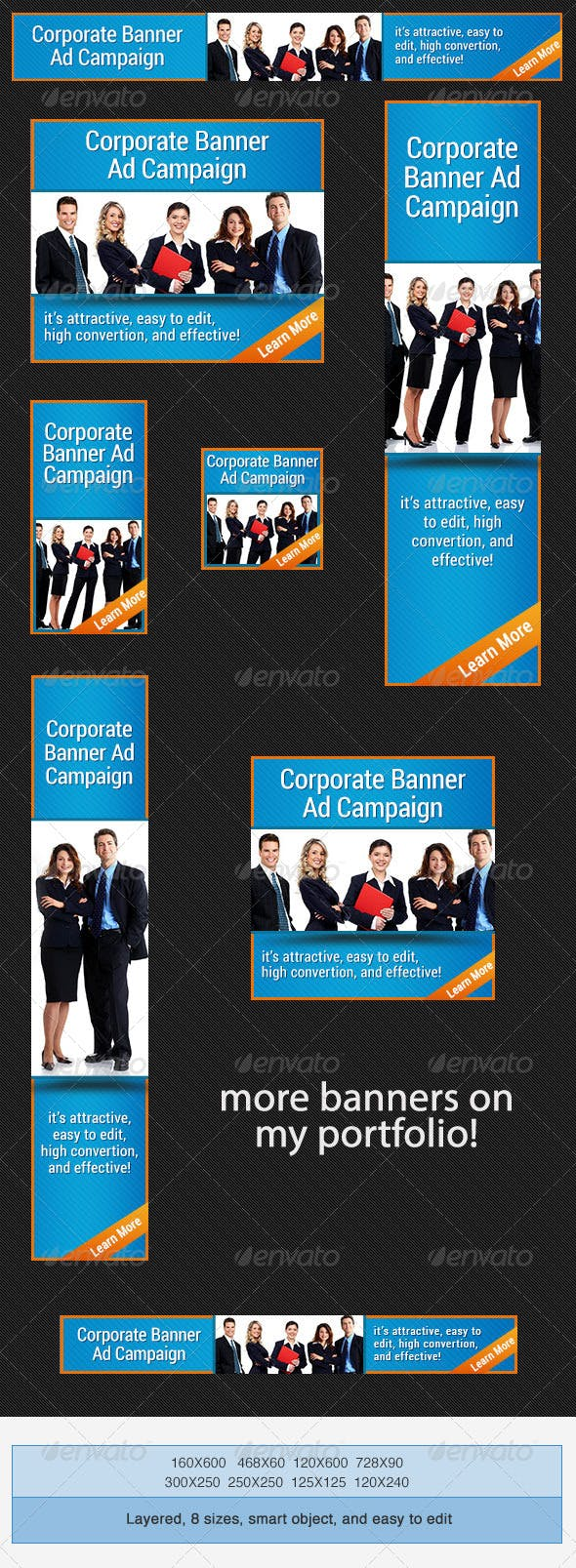 corporate psd banner ad template by admiral adictus graphicriver