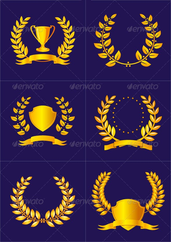 laurel leaf crown template.html