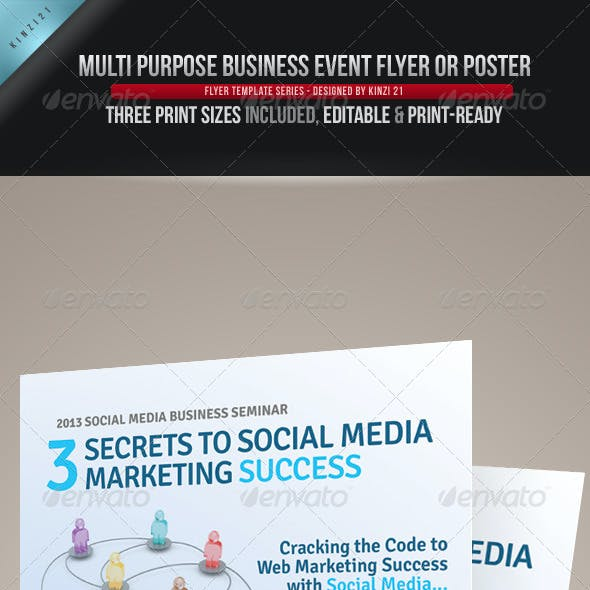 roll up and signage flyer templates from graphicriver