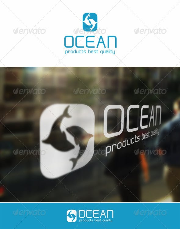 ocean fish letter o logo template by djjeep graphicriver