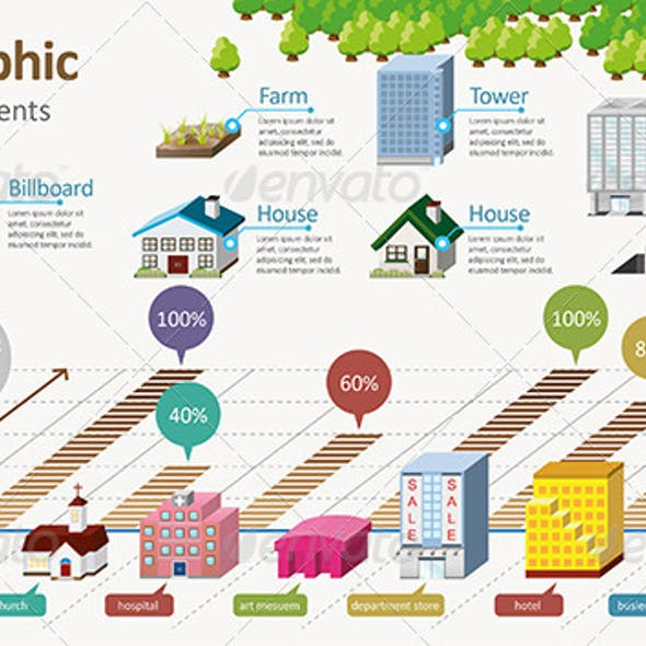 3d house infographic templates from graphicriver