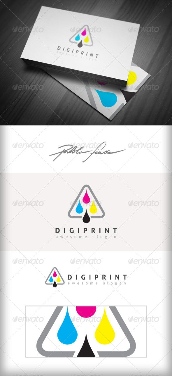 Digital Printer Online Printing Cmyk Logo By Pablofiasco