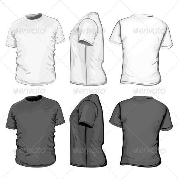 Men S T Shirt Design Template