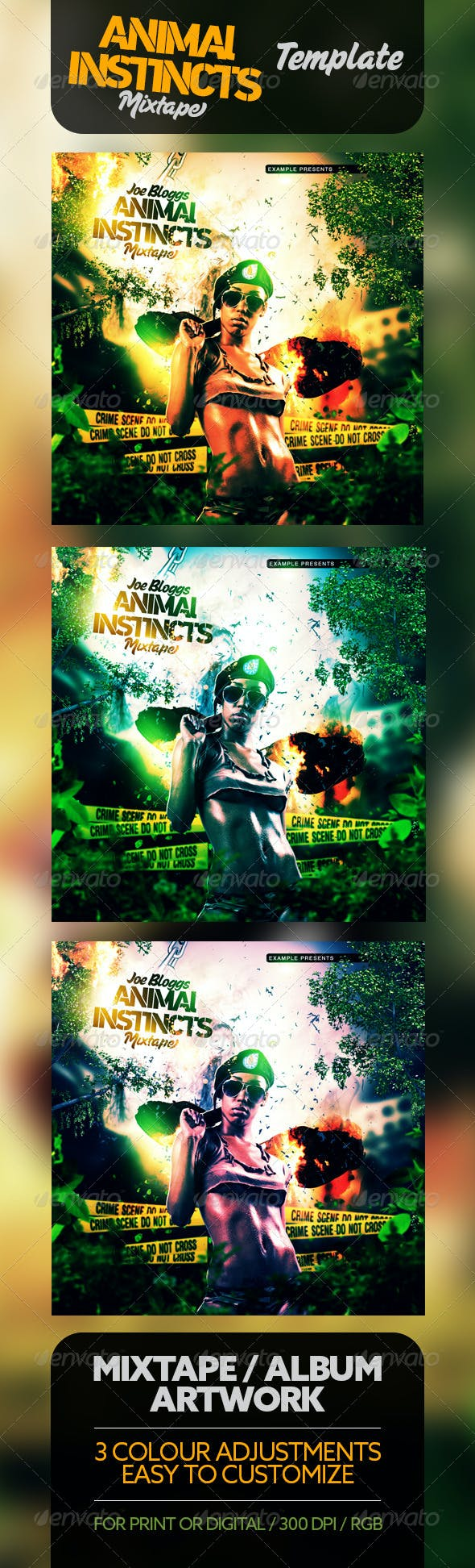 Animal Instincts 3 Full Movie animal instincts mixtape / cd template