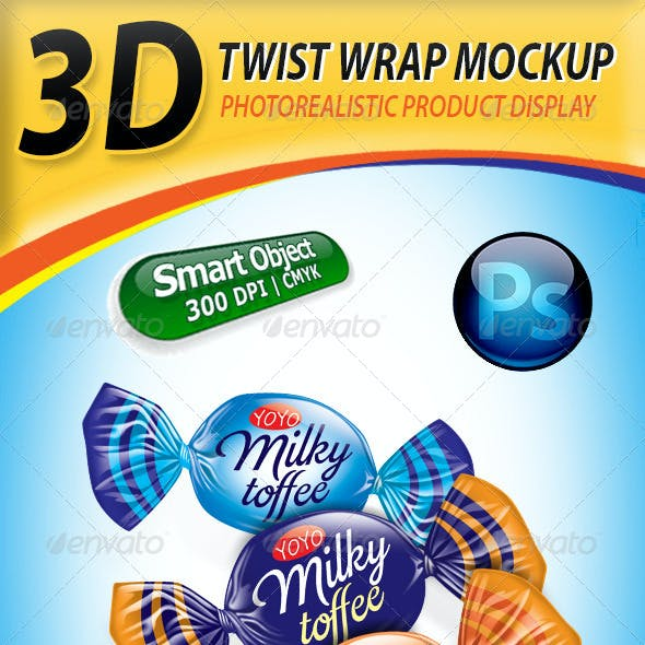 Candy Mockup Graphics Designs Templates From Graphicriver