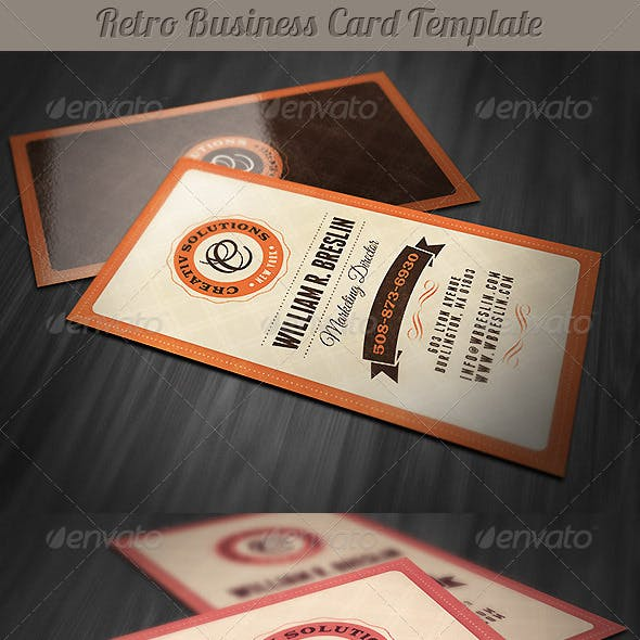 Vintage Business Card Templates Designs From Graphicriver Page 10