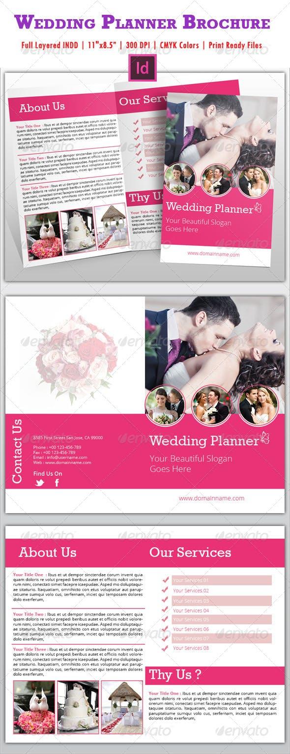wedding planner brochure by azadcsstune graphicriver