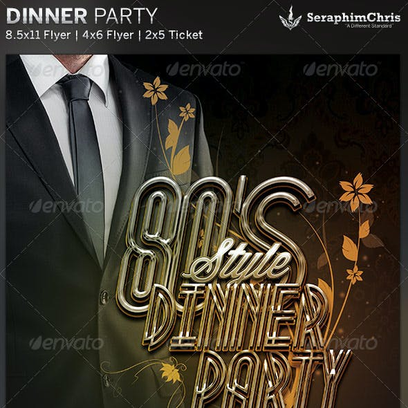 80 s party flyer graphics designs templates from graphicriver