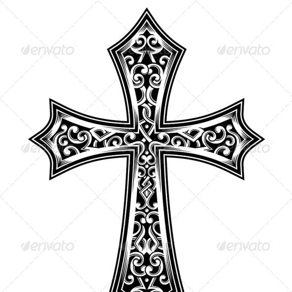 Catholic Cross Graphics Designs Templates From Graphicriver