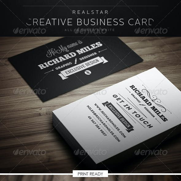 Black Vintage Business Card Templates Designs Page 4