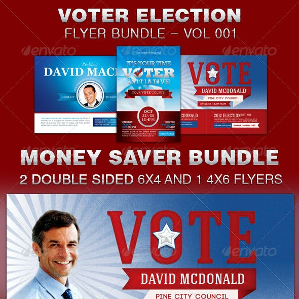 election district stationery and design templates