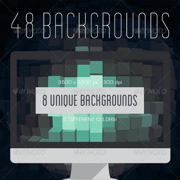 48 Sphere Backgrounds