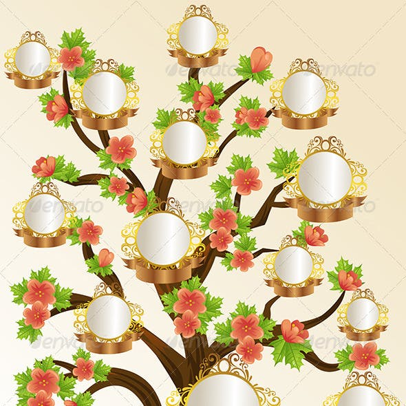 family tree template graphics designs templates