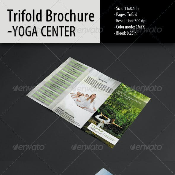 yoga brochure templates.html