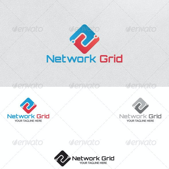 grid logo graphics designs templates from graphicriver