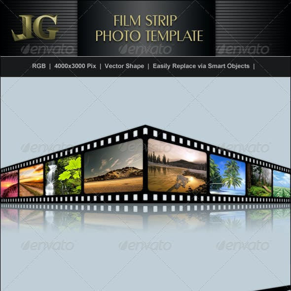 film strip picture template.html