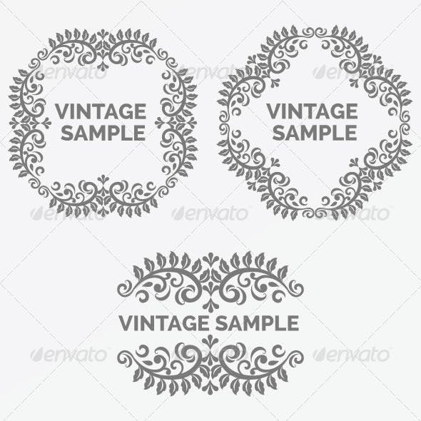 Vintage Frame Vectors from GraphicRiver (Page 9)