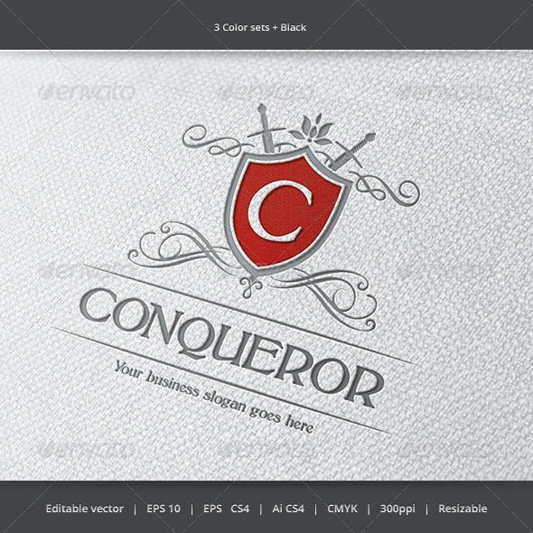 conquerors conqueror logo templates from graphicriver