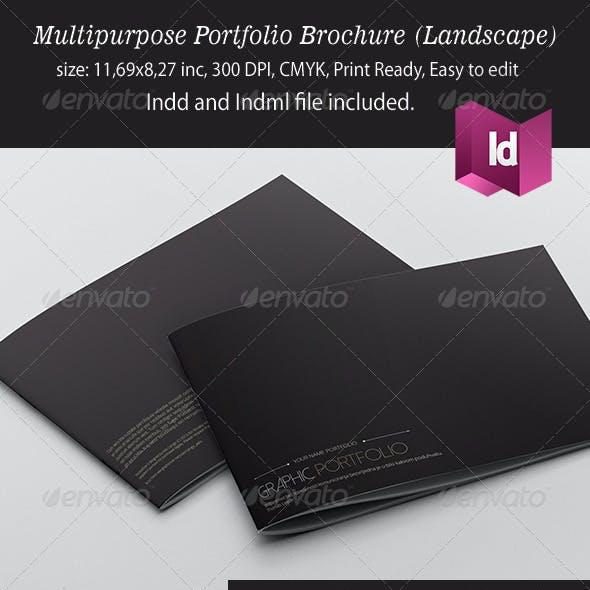 Academic Portfolio Graphics Designs Template