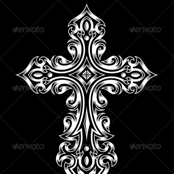 Victorian Auto Sales >> Catholic Cross Graphics, Designs & Templates from GraphicRiver