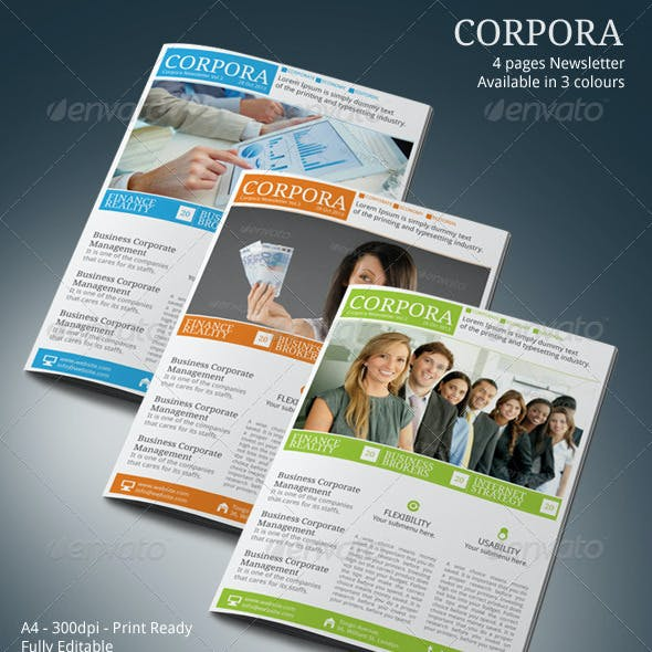 newsletter templates from graphicriver page 20