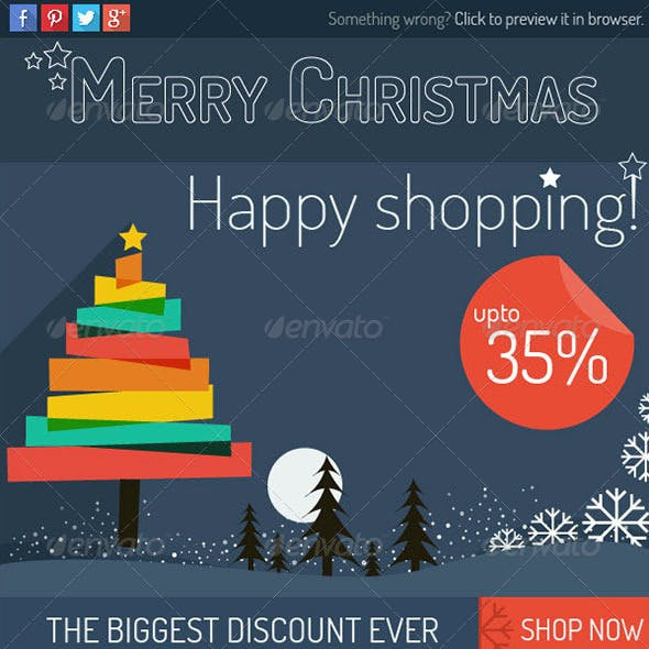 Holiday Newsletter Graphics Designs Template