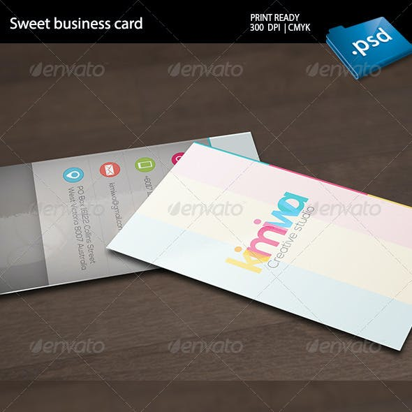 Charm Business Card Templates Designs From Graphicriver