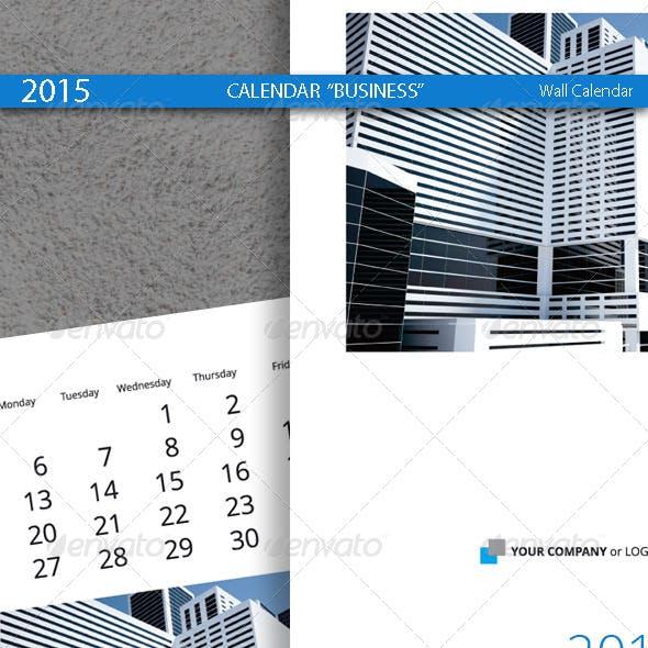 Office calendar templates designs from graphicriver page 19 business calendar template 2015 2014 accmission Images