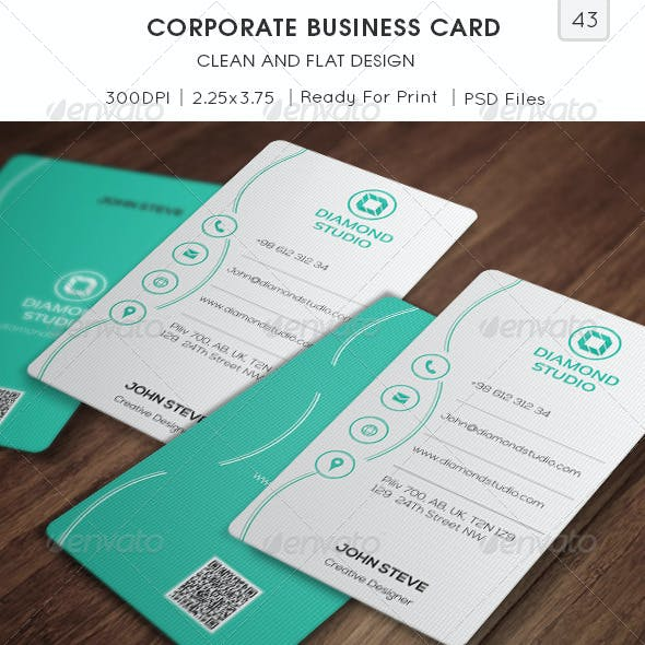 Zip Creative and Personal Corporate Business Card Templates ...